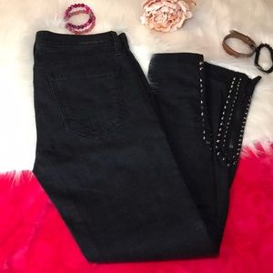 Current Elliott black jeans size 27